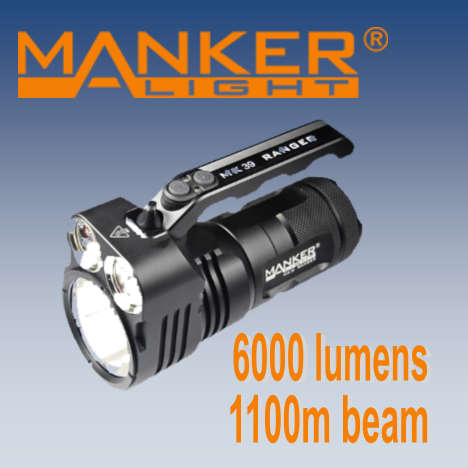 Manker MK39 - Hi Power Flashlights, LED Torches