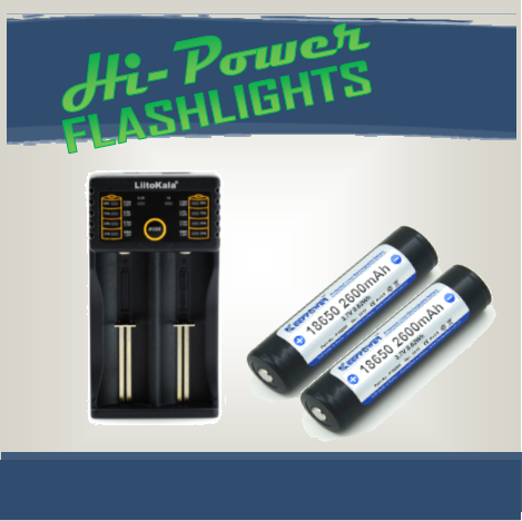 PowerPack 2 - Hi Power Flashlights