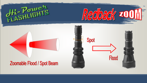 Hi-Power Redback ZOOM - Hi Power Flashlights