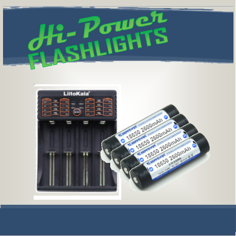 PowerPack 4 - Hi Power Flashlights
