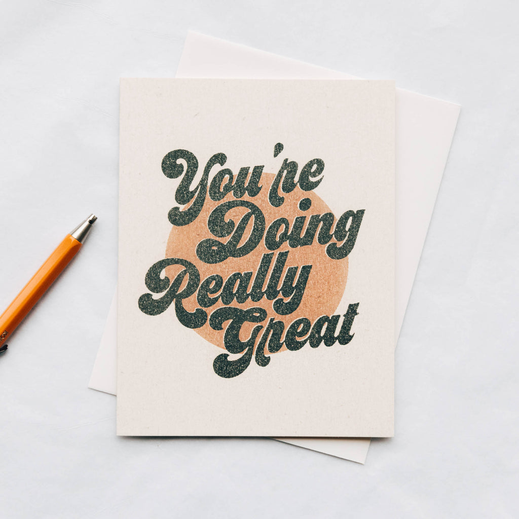You're Doing Great Vintage Inspired Card