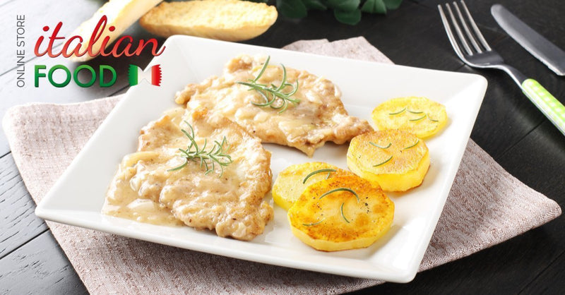 Veal Lemon Scaloppine