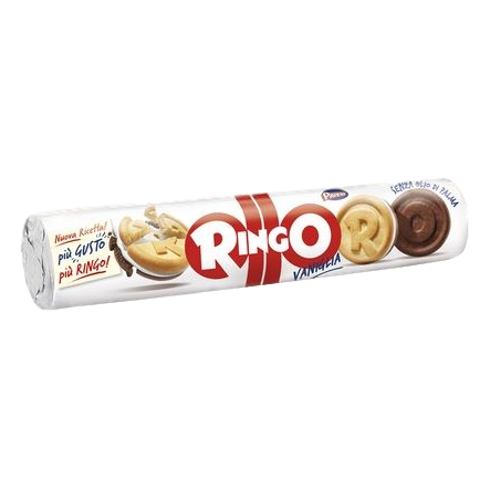 Ringo Vaniglia Cookies with Vanilla Cream by Pavesi - 5.8 oz