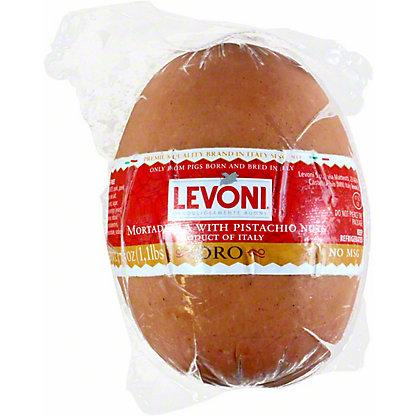 Mortadella with Pistachio Nuts Imported from Italy by Levoni - 1.1 lb