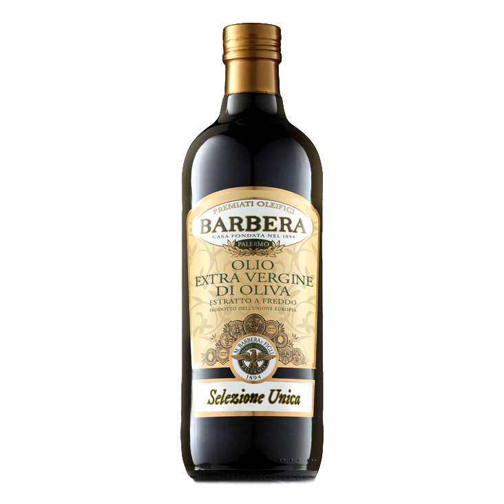 Extra Virgin Olive Oil Unfiltered processed with Cold Extraction by Barbera  - 33.8 fl oz