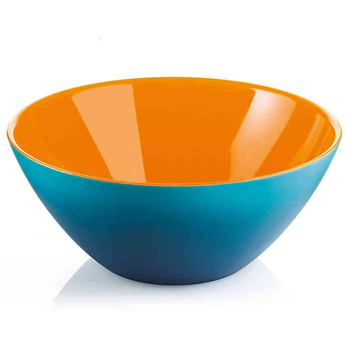 "Serving Bowl ""My Fusion"" Blue/Orange Color by Guzzini"