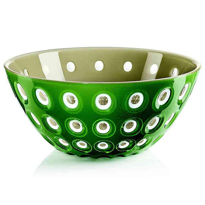"Bowl ""Le Murrine"" Green Musk/Sand Color by Guzzini"
