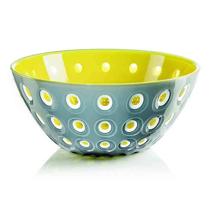 "Bowl ""Le Murrine"" Gray/Yellow Color by Guzzini"