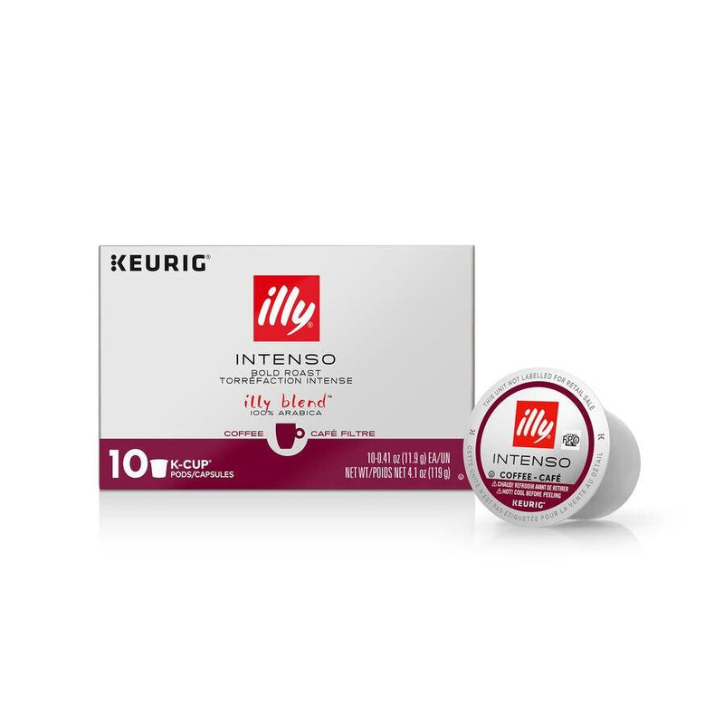 Keurig® illy® K-Cup® Pods Intenso | Dark Roast by illy - 10 pods
