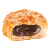 Chocolate Cream Filled Puff Pastry Tesoro by Vicenzi - 4.41 oz. - Italian Food Online Store