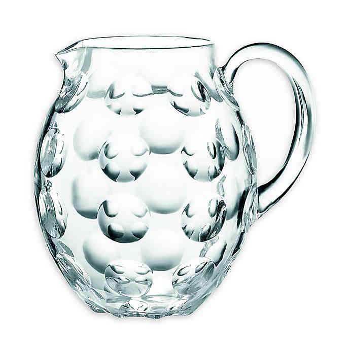 "Pitcher Transparent Acrylic ""Venice"" Collection by Guzzini"