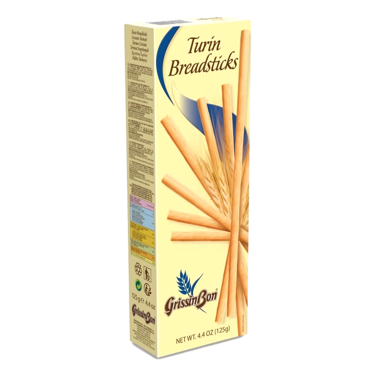 "Turin Breadsticks ""Grissini Torinesi"" by GrissinBon - 4.4 oz"