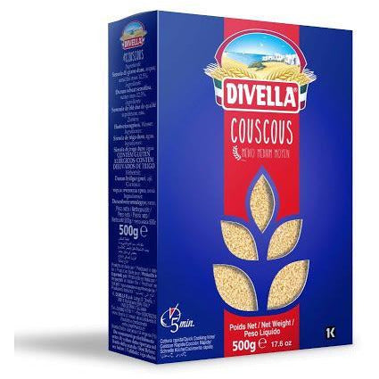 Cous Cous Medium from Italy (500 grams) by Divella - 17.6 oz