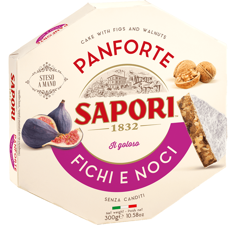 "Soft Almond Cake with Candied Fruit ""Panforte"" by Sapori - 12.35 oz"