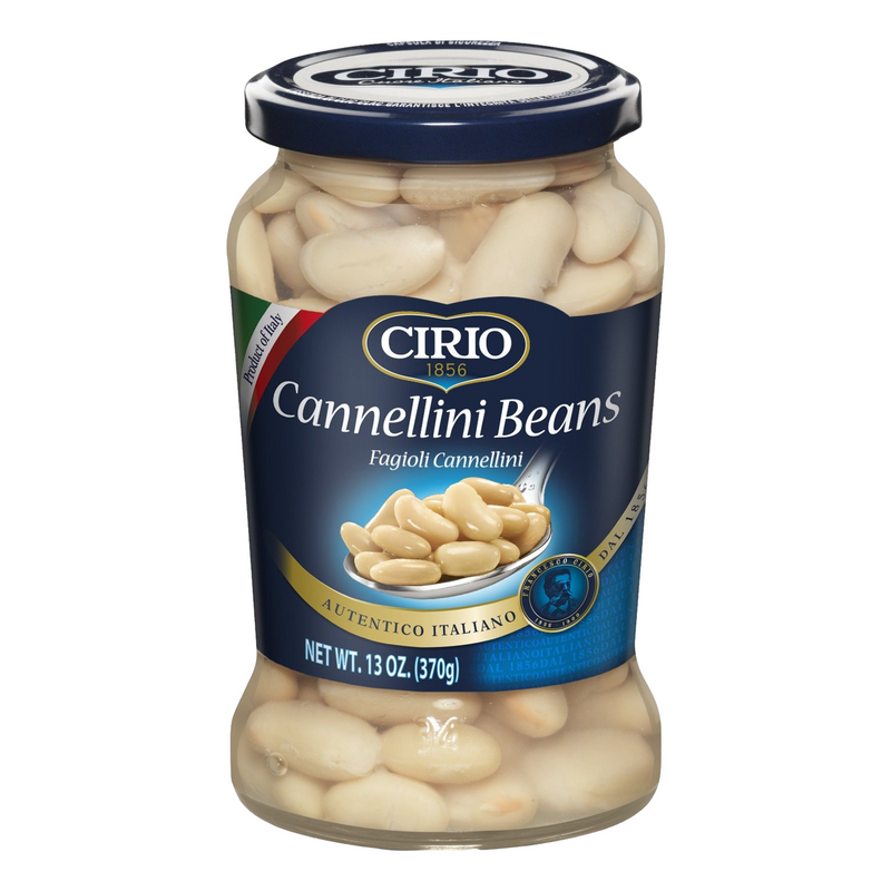 Italian Cannellini Beans in Jar by Cirio - 13 oz