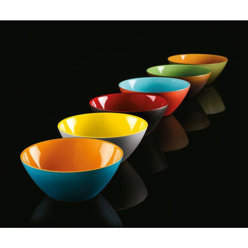 "Serving Bowl ""My Fusion"" Coral/Sea Color by Guzzini"