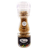 Italian Salt with Black Truffle in Glass Bottle (150 grams) by Borgo de' Medici - 5.3 oz