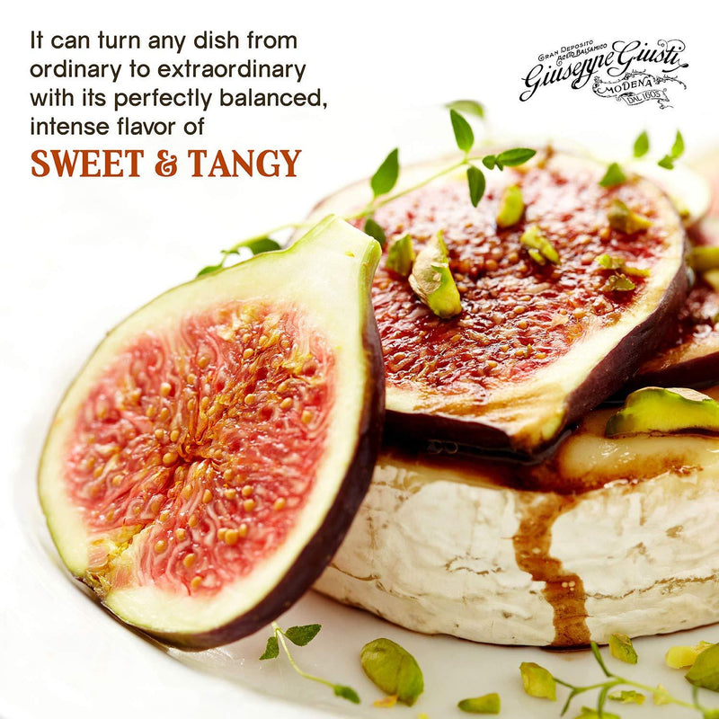 Gourmet Glaze with Balsamic Vinegar of Modena & Figs by Giusti - 8.4 fl oz