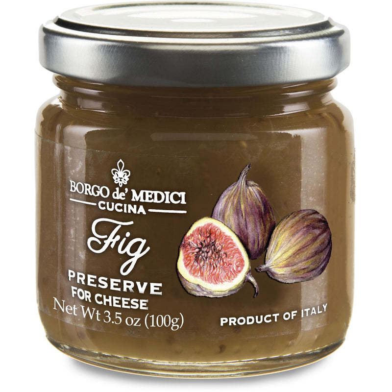 Fig Preserve for Cheese Tasting (100 grams) by Borgo de' Medici - 3.5 oz