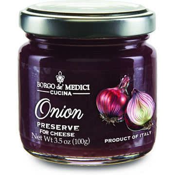 Onion Preserve for Cheese Tasting (100 grams) by Borgo de' Medici - 3.5 oz