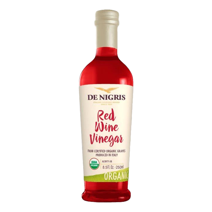 Organic Aged Red Wine Vinegar (250 ml) by De Nigris - 8.5 fl oz