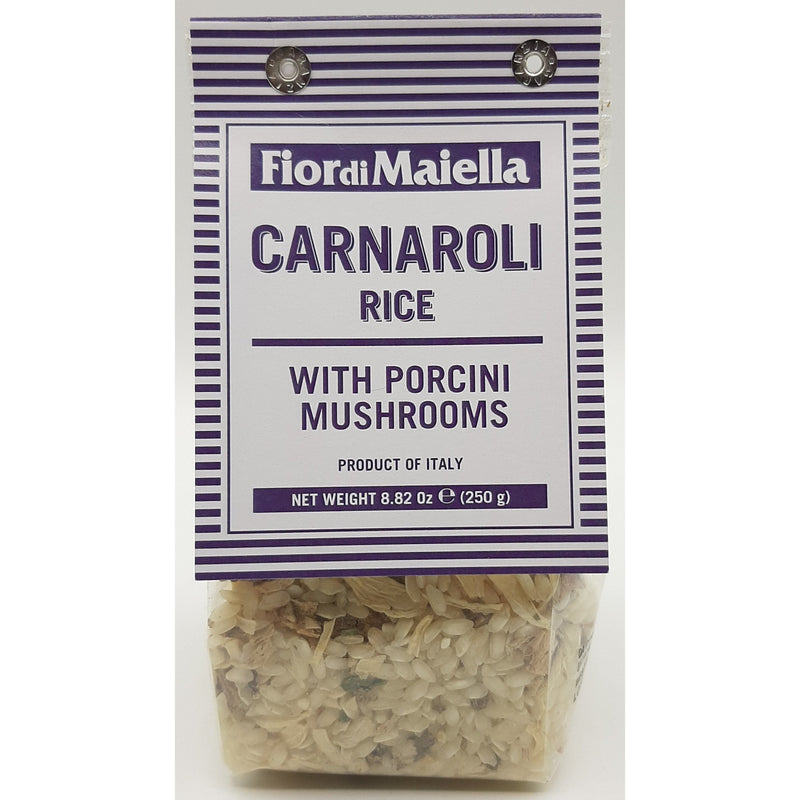 Carnaroli Rice with Porcini Mushrooms (Riso Carnaroli) by Fior di Maiella - 8.82 oz