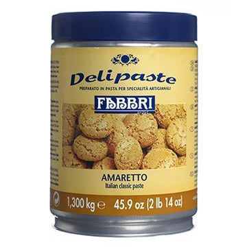 Creamy Amaretto Classic Paste | Preparation for Ice Cream & Pastries by Fabbri - 2.86 lb