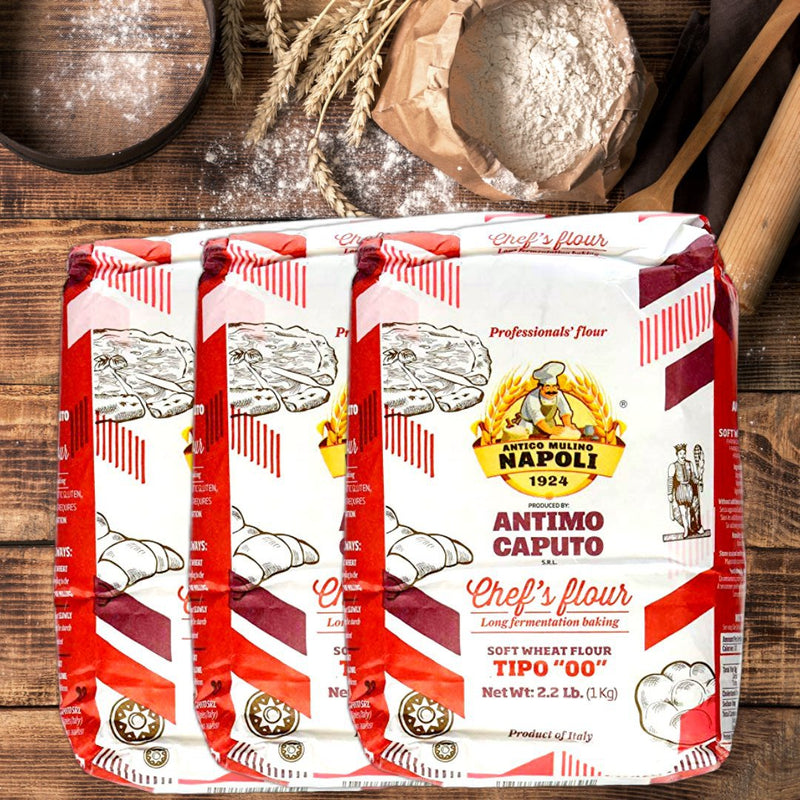 "Italian ""00"" Chef's Flour ideal for Pizza by Antimo Caputo - 2.2 lb. - Italian Food Online Store"