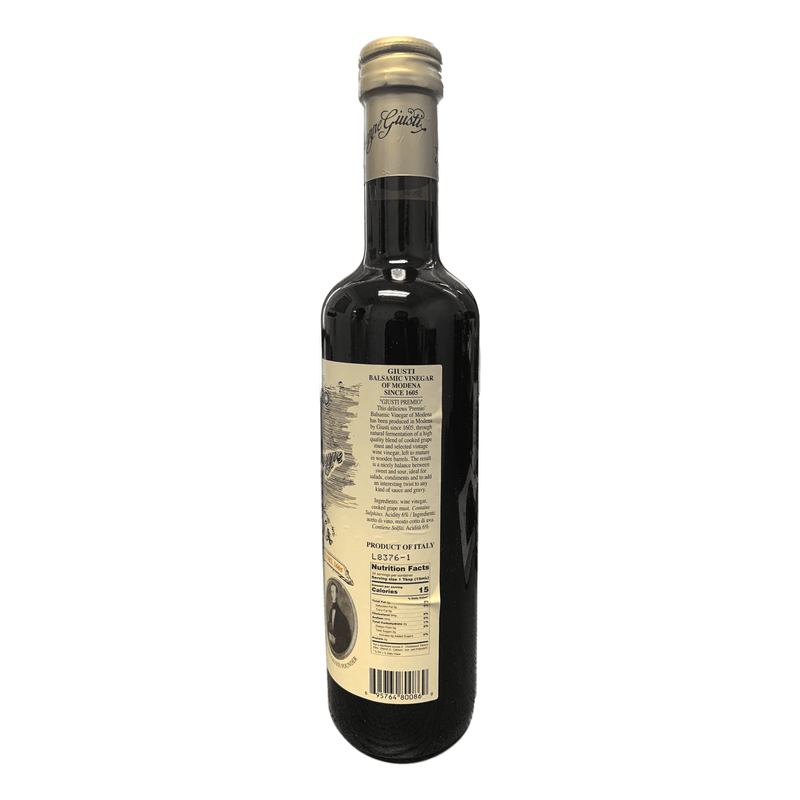 "Balsamic Vinegar of Modena ""Gran Deposito"" (Italy) by Giusti - 16.9 fl oz"