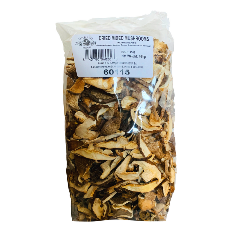 Dried Mixed Mushrooms by Urbani - 1 lb