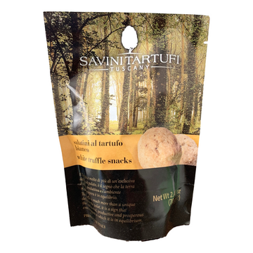 White Truffle Snacks Biscuits (70 gr) by Savini - 2.47 oz
