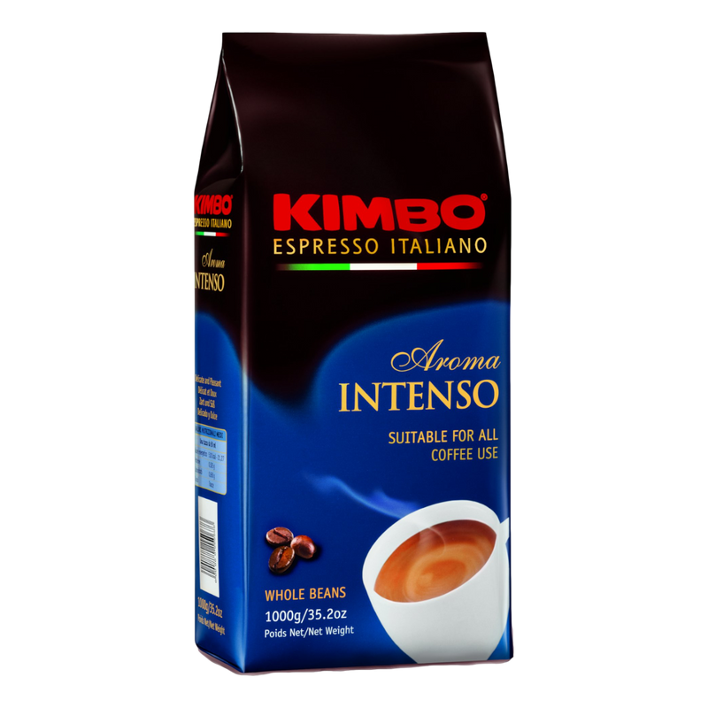 Whole Beans Coffee Espresso Aroma Intenso by Kimbo - 8.8 oz