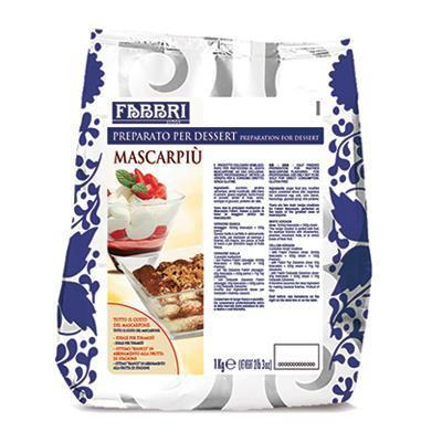 "Preparation for Dessert ""Mascarpiu"" Mascarpone Taste (1 kg) by Fabbri - 2.2 lb"