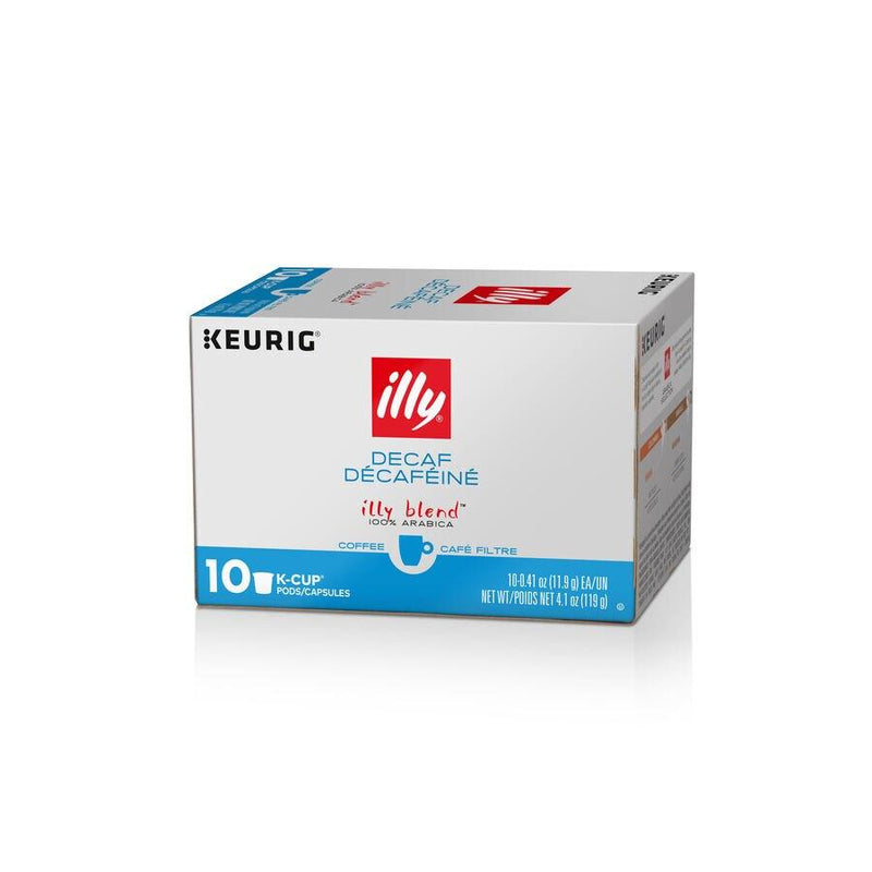 illy® K-Cup® Pods Classico | Decaffeinated by illy - 10 pods