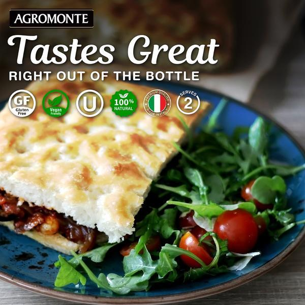 Eggplant Pasta sauce with cherry tomato by Agromonte - 20.46 oz