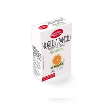 Natural Orange Blossom Extract Gluten Free by Molino Rossetto - 2 packs x 0.88 oz