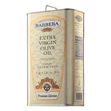 Extra Virgin Olive Oil Unfiltered processed with Cold Extraction by Barbera  - 101.4 fl oz