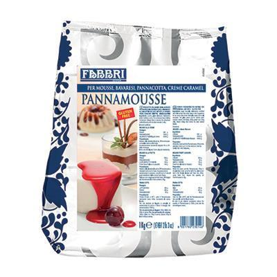 "Preparation for Pastries ""Pannamousse"" (1 kg) by Fabbri - 2.2 lb"
