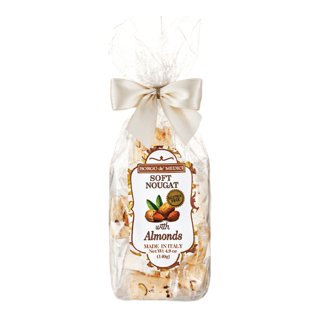 Soft Nougat with Almonds by Borgo de' Medici - 4.9 oz