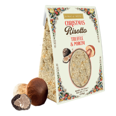 Christmas Risotto Rice with Truffle & Mushrooms by Borgo de' Medici - 7.7 oz