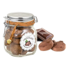 Artisanal Chocolate & Cocoa Drops Cookies in Jar by Borgo de' Medici - 7 oz