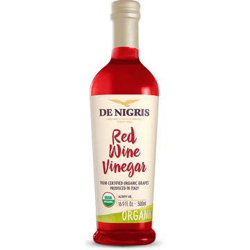 Organic Red Wine Vinegar (500 ml) by De Nigris - 16.9 fl oz