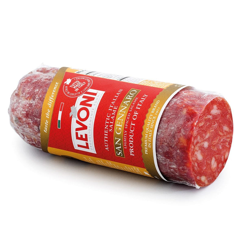 Salame Piccante Smoked Spicy Authentic Italian Salame by Levoni - 7 oz