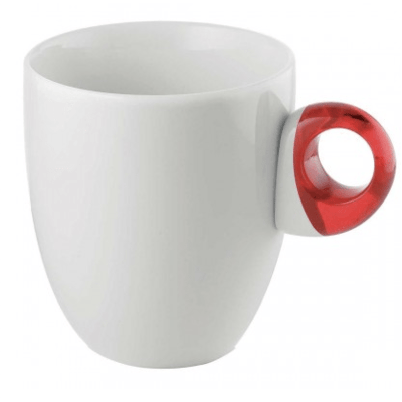 "Mug made with Porcelain ""Feeling"" Style (Plenty Colors available) by Guzzini"