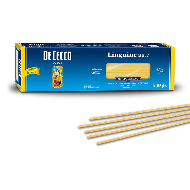 Linguine Pasta from Italy by De Cecco no. 7 - 1 lb