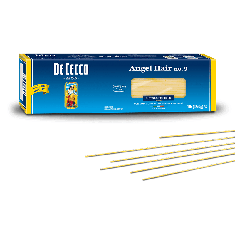 Angel Hair Pasta from Italy by De Cecco no. 9 - 1 lb