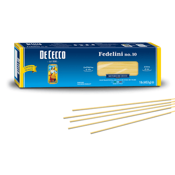 Fedelini Pasta from Italy by De Cecco no. 10 - 1 lb