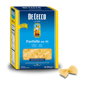 Farfalle Pasta from Italy by De Cecco no. 93 - 1 lb