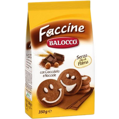 Balocco Cookies Faccine Cookies (Gold Selection) by Balocco - 12.3 oz.