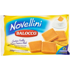 Balocco Cookies Novellini Cookies (Gold Selection) by Balocco - 12.3 oz.